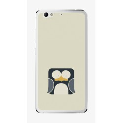 Funda Gel Tpu para Weimei We Plus Diseño Pingüino Dibujos