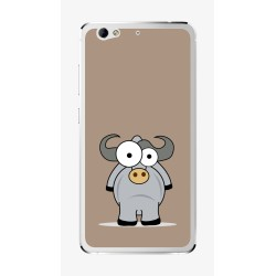 Funda Gel Tpu para Weimei We Plus Diseño Toro Dibujos
