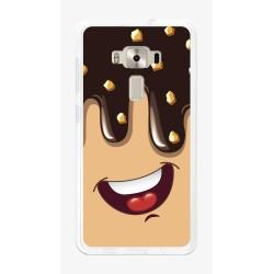 "Funda Gel Tpu para Asus Zenfone 3 5.5"" Ze552Kl Diseño Helado Chocolate Dibujos"