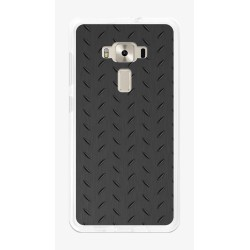 """Funda Gel Tpu para Asus Zenfone 3 5.5"""" Ze552Kl Diseño Metal Dibujos"""