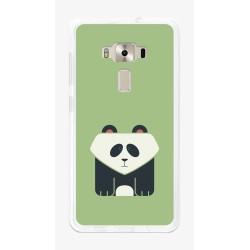 """Funda Gel Tpu para Asus Zenfone 3 5.5"""" Ze552Kl Diseño Panda Dibujos"""