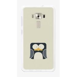 "Funda Gel Tpu para Asus Zenfone 3 5.5"" Ze552Kl Diseño Pingüino Dibujos"