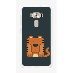 """Funda Gel Tpu para Asus Zenfone 3 5.5"""" Ze552Kl Diseño Tigre Dibujos"""