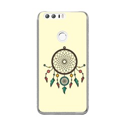 Funda Gel Tpu para Huawei Honor 8 Diseño Atrapasueños Dibujos