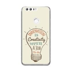 Funda Gel Tpu para Huawei Honor 8 Diseño Creativity Dibujos