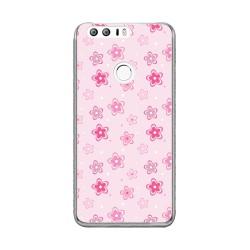 Funda Gel Tpu para Huawei Honor 8 Diseño Flores Dibujos