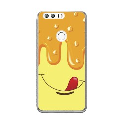 Funda Gel Tpu para Huawei Honor 8 Diseño Helado Vainilla Dibujos