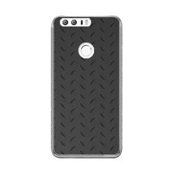 Funda Gel Tpu para Huawei Honor 8 Diseño Metal Dibujos