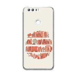 Funda Gel Tpu para Huawei Honor 8 Diseño Mundo-Libro Dibujos