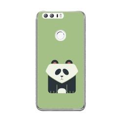 Funda Gel Tpu para Huawei Honor 8 Diseño Panda Dibujos