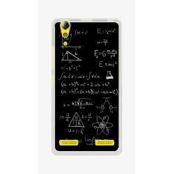 Funda Gel Tpu para Lenovo K3 / K30-W Diseño Formulas Dibujos
