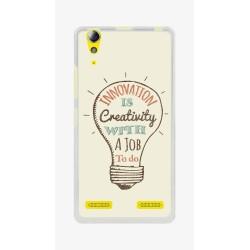 Funda Gel Tpu para Lenovo K3 / K30-W Diseño Creativity Dibujos