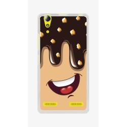 Funda Gel Tpu para Lenovo K3 / K30-W Diseño Helado Chocolate Dibujos