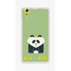 Funda Gel Tpu para Lenovo K3 / K30-W Diseño Panda Dibujos