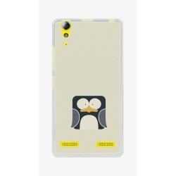 Funda Gel Tpu para Lenovo K3 / K30-W Diseño Pingüino Dibujos