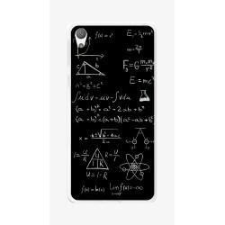Funda Gel Tpu para Sony Xperia E5 Diseño Formulas Dibujos