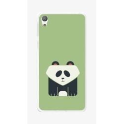 Funda Gel Tpu para Sony Xperia E5 Diseño Panda Dibujos