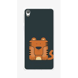 Funda Gel Tpu para Sony Xperia E5 Diseño Tigre Dibujos