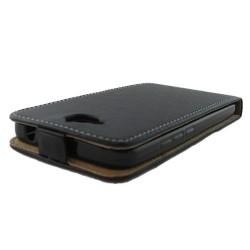 Funda Piel Premium Negra Ultra-Slim para Huawei Y6 Pro