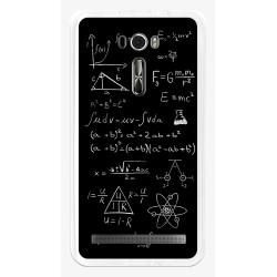 """Funda Gel Tpu para Asus Zenfone 2 Laser 6"""" Ze601Kl Diseño Formulas Dibujos"""