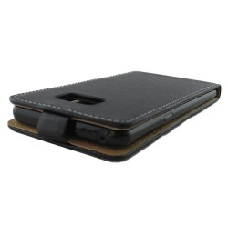 Funda Piel Premium Negra Ultra-Slim para Samsung Galaxy Note 7