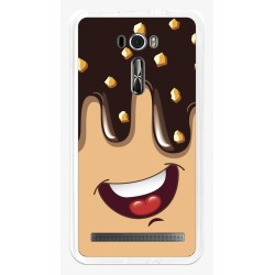 "Funda Gel Tpu para Asus Zenfone 2 Laser 6"" Ze601Kl Diseño Helado Chocolate Dibujos"