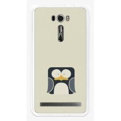 """Funda Gel Tpu para Asus Zenfone 2 Laser 6"""" Ze601Kl Diseño Pingüino Dibujos"""