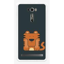 """Funda Gel Tpu para Asus Zenfone 2 Laser 6"""" Ze601Kl Diseño Tigre Dibujos"""
