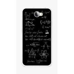 Funda Gel Tpu para Huawei Y5 Ii / Y6 II Compact Diseño Formulas Dibujos