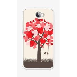 Funda Gel Tpu para Huawei Y5 Ii / Y6 II Compact Diseño Pajaritos Dibujos
