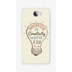 Funda Gel Tpu para Huawei Y5 Ii / Y6 II Compact Diseño Creativity Dibujos