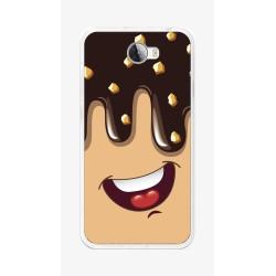 Funda Gel Tpu para Huawei Y5 Ii / Y6 II Compact Diseño Helado Chocolate Dibujos