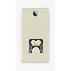 Funda Gel Tpu para Huawei Y5 Ii / Y6 II Compact Diseño Pingüino Dibujos