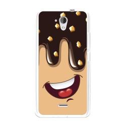 Funda Gel Tpu para Hisense F20 Diseño Helado Chocolate Dibujos