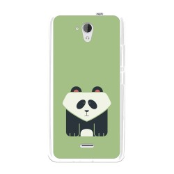 Funda Gel Tpu para Hisense F20 Diseño Panda Dibujos