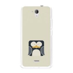 Funda Gel Tpu para Hisense F20 Diseño Pingüino Dibujos