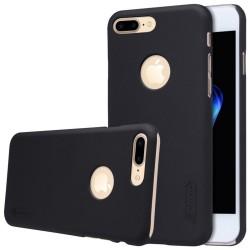 Carcasa Funda Negra Nillkin Modelo Frosted + Protector para Iphone 7 Plus / 8 Plus