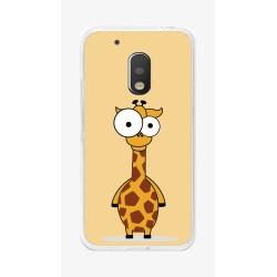Funda Gel Tpu para Motorola Moto G4 Play Diseño Jirafa Dibujos