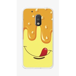 Funda Gel Tpu para Motorola Moto G4 Play Diseño Helado Vainilla Dibujos