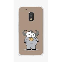 Funda Gel Tpu para Motorola Moto G4 Play Diseño Toro Dibujos