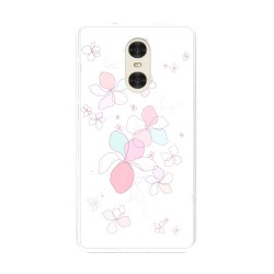 "Funda Gel Tpu para Xiaomi Redmi Pro 5.5"" Diseño Flores-Minimal Dibujos"