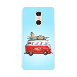 "Funda Gel Tpu para Xiaomi Redmi Pro 5.5"" Diseño Furgoneta Dibujos"