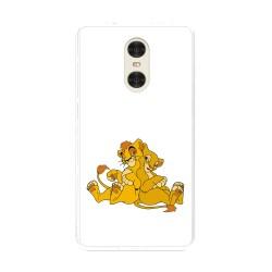 "Funda Gel Tpu para Xiaomi Redmi Pro 5.5"" Diseño Leones Dibujos"