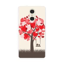 "Funda Gel Tpu para Xiaomi Redmi Pro 5.5"" Diseño Pajaritos Dibujos"