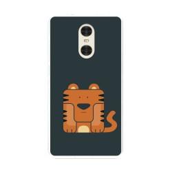 "Funda Gel Tpu para Xiaomi Redmi Pro 5.5"" Diseño Tigre Dibujos"