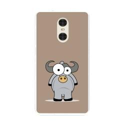 "Funda Gel Tpu para Xiaomi Redmi Pro 5.5"" Diseño Toro Dibujos"