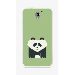 Funda Gel Tpu para Zte Blade A510 Diseño Panda Dibujos