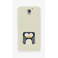 Funda Gel Tpu para Zte Blade A510 Diseño Pingüino Dibujos