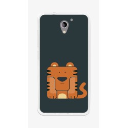 Funda Gel Tpu para Zte Blade A510 Diseño Tigre Dibujos