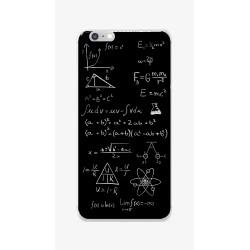Funda Gel Tpu para Iphone 6 / 6S Diseño Formulas Dibujos